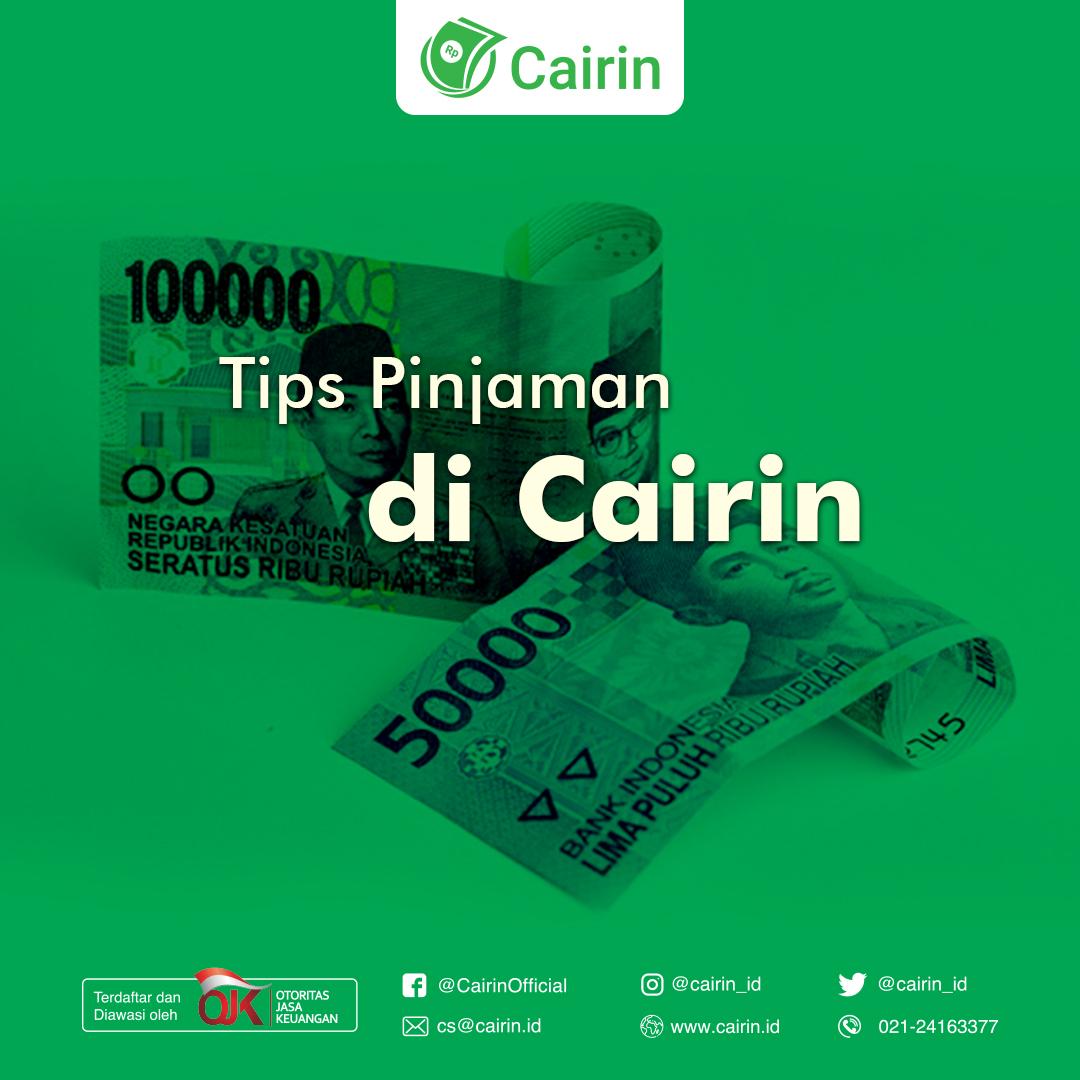 Tips Pinjaman Cepat Cair Cairin