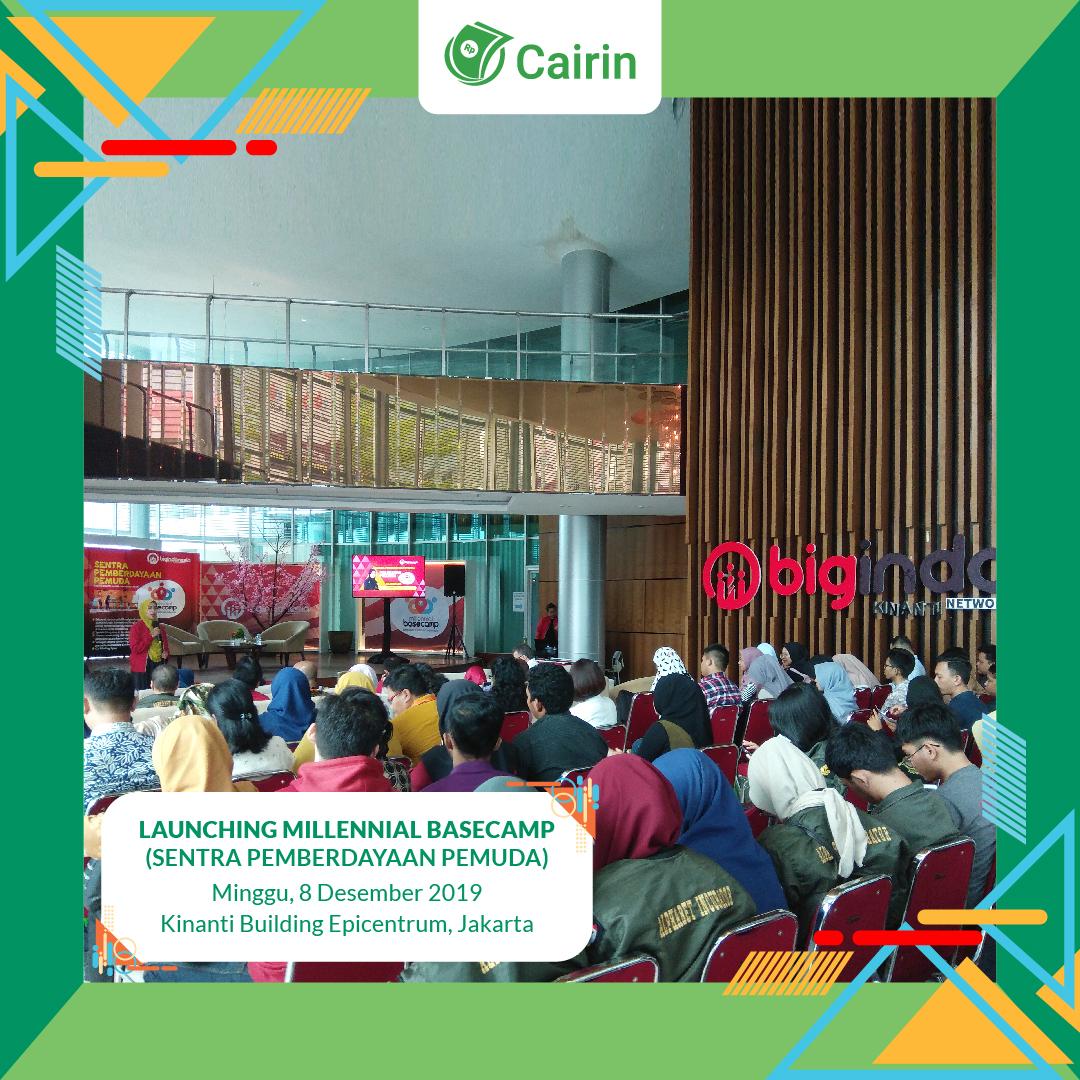 Fintech Cairin, Program Kolaborasi Kembangkan Startup Milenial Basecamp