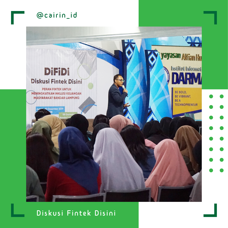 DiFiDi, Mengajak Mahasiswa Darmajaya Lampung Mengenal Fintech
